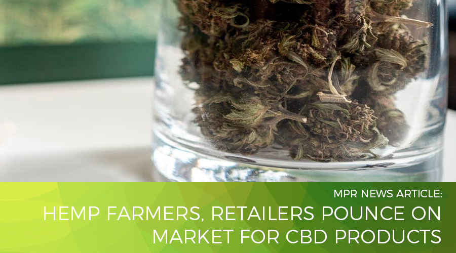 Hemp farmers, retailers pounce on market for CBD products