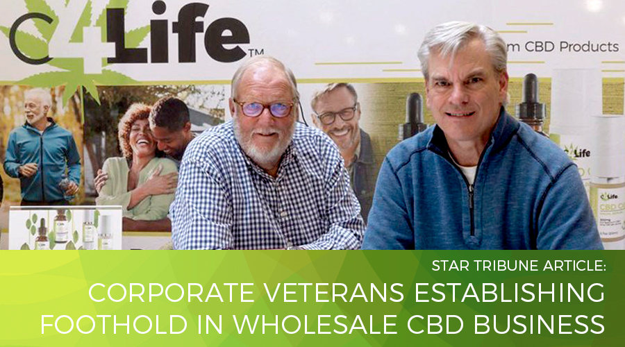 Corporate veterans establishing foothold in wholesale CBD business