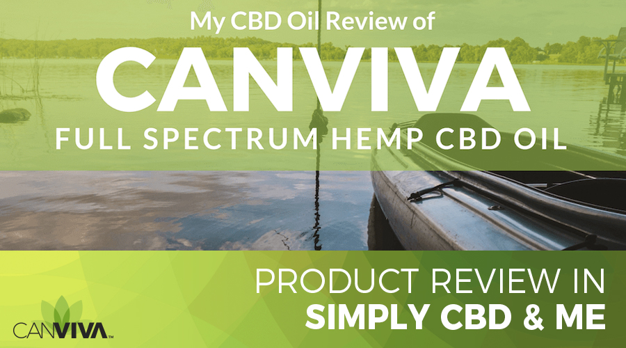 CANVIVA™ Product Review in Simply CBD & Me