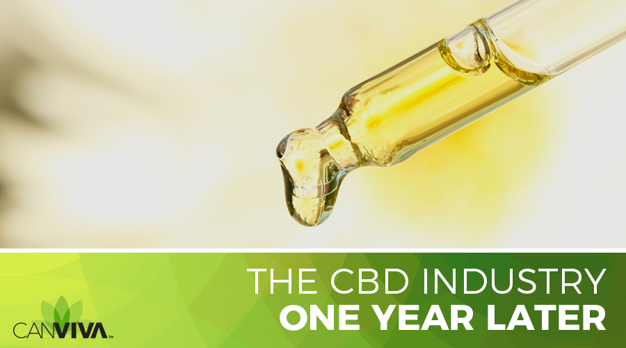 The CBD Industry One Year Later