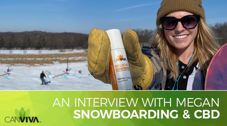 Snowboarding And CBD: An Interview with CANVIVA's Megan