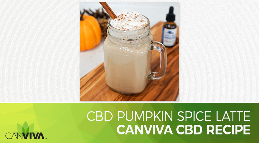 Pumpkin Spice Latte With CBD