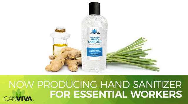 CANVIVA Produces Hand Sanitizer for Essential Industry Employees During Shortage