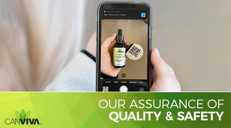 Our Assurance of CBD Quality and Safety